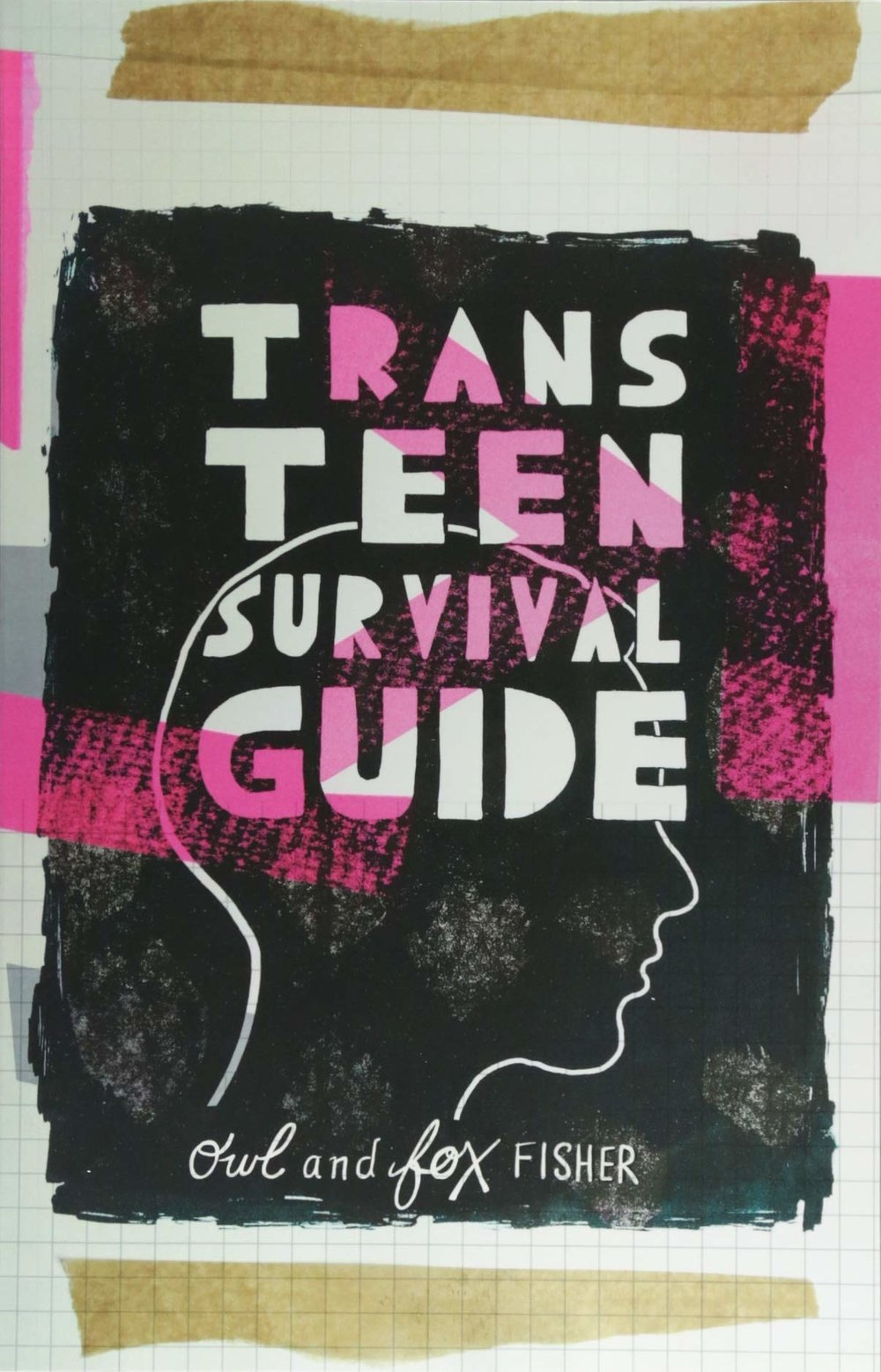 TRANS TEEN SURVIVAL GUIDE Young Adult, Jessica Kingsley Publishers, 224 pages, 2018  Wondering how to come out to your family and friends, what it's like to go through cross hormonal therapy or how to put on a packer? Trans youth activists Fox and Owl have stepped in to answer everything that trans teens and their families need to know.  With a focus on self-care, expression and being proud of your unique identity, the guide is packed full of invaluable advice from people who understand the realities and complexities of growing up trans. Having been there, done that, Fox and Owl are able to honestly chart the course of life as a trans teen, from potentially life-saving advice on dealing with dysphoria or depression, to hilarious real-life awkward trans stories.