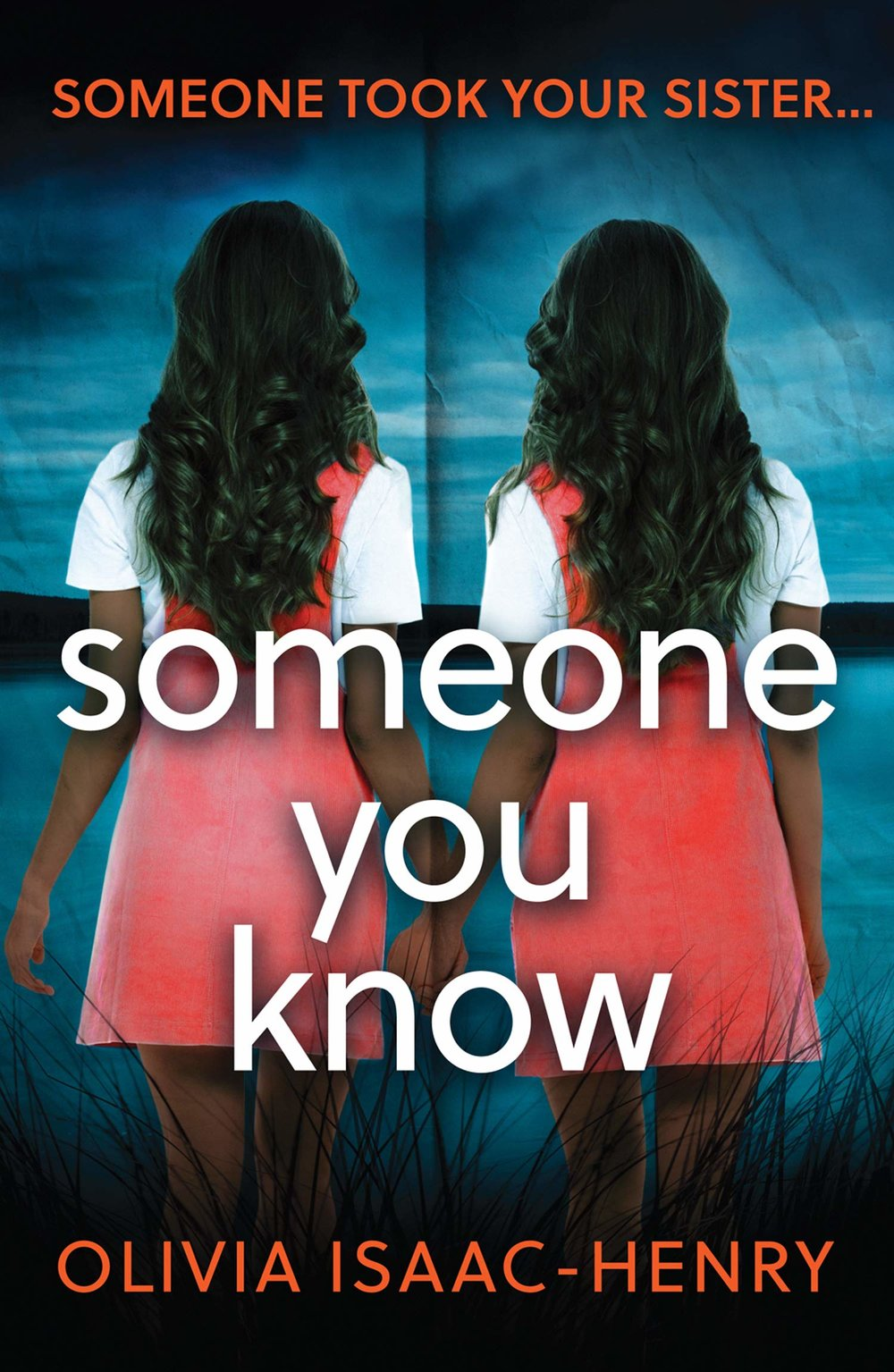 SOMEONE YOU  KNOW Thriller, Avon, 300 pages, 2019  Tess Piper was fourteen when her adored twin sister Edie disappeared.  She has spent the last twenty years building a life away from her fractured family, desperate to escape the shadow of the past.  Only now she needs to confront the huge hole her sister's disappearance left in her life, because a body has been found. The police are shining a spotlight on the Piper family. And secrets are about to surface.  After all, it's common knowledge that more often than not, these crimes are committed by someone close to the victim. Someone they trust. Someone they know…