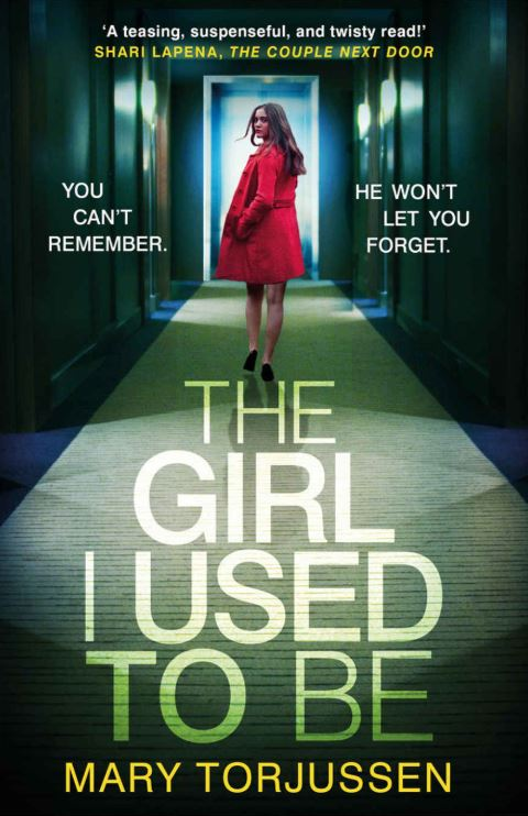 THE GIRL I USED TO BE  Thriller, Headline, 352 pages, 2018  Gemma Brogan needs a break from her life.  A work event looks the ideal chance to get away. And a friendly new client seems like the perfect gentleman when he joins Gemma for an innocent dinner . . .  But the next morning she has no memory of how the night ended and he has vanished into thin air.  Suddenly, Gemma is plunged into a twisted nightmare she can't control. To protect her future, and her family, she will have to confront shocking secrets from her past - and the truth about the girl she used to be.