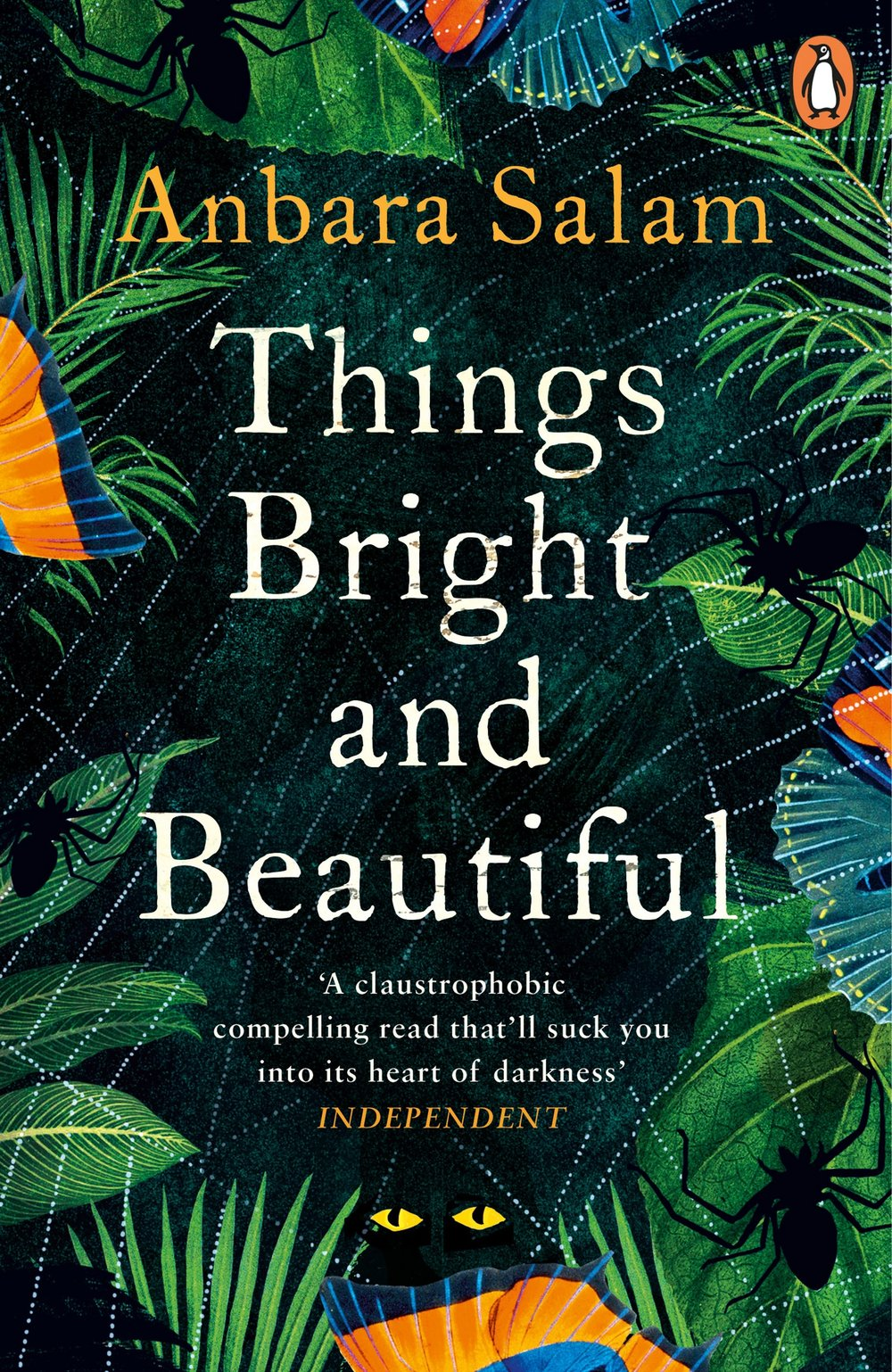 THINGS BRIGHT AND BEAUTIFUL  Literary, 277 pages Fig Tree, April 2018  When Bea Hanlon follows her preacher husband Max to a remote island in the Pacific, she soon sees that their mission will bring anything but salvation. Past the confines of their stuffy little house, amidst the damp and the dust and the sweltering heat, rumours are spreading of devil chasers who roam the island on the hunt for evil spirits. And then there are the noises from the church at night.  Yet, to the amusement of the locals and the bafflement of her husband, Bea gradually adapts to life on the island. But with the dreadful events heralded by the arrival of an unexpected, wildly irritating and always-humming house guest, Advent Island becomes a hostile place once again. And before long, trapped in the jungle and in the growing fever of her husband's insanity, Bea finds herself fighting for her freedom, and for her life.