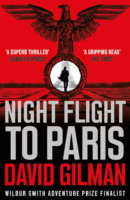 NIGHT FLIGHT TO PARIS  Historical Fiction, 496 pages Head of Zeus - August 2018  PARIS, 1943. The swastika flies from the top of the Eiffel Tower. Buildings have been renamed, books banned, art stolen and people disappeared. Amongst the missing is an Allied intelligence cell. Gone to ground? Betrayed? Dead? Britain's Special Operations Executive need to find out. They recruit ex-Parisian and Bletchley Park codebreaker Harry Mitchell to return to the city he fled two years ago.  Mitchell knows the risks: a return to Paris not a mission – it's a death sentence.But he has good reason to put his life on the line: the wife and daughter he was forced to leave behind have fallen into the hands of the Gestapo and Michell will do whatever it takes to save them. But with disaster afflicting his mission from the outset, it will take all his ingenuity, all his courage, to even get into Paris... unaware that every step he takes towards the capital is a step closer to a trap well set and baited.