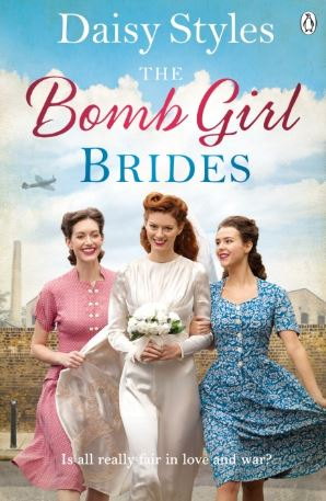 THE BOMB GIRL BRIDES  Saga, 400 pages, Penguin, June 2018  It's 1944 and Britain is a country at war. The young women of the Phoenix munitions factory are giving their all to the cause, but romance is beckoning...  The life of a Bomb Girl isn't usually glamourous. But Maggie is getting married, so she is going to make sure her wedding day  is  - even if she does have to spend every other day slaving on the factory floor.  This blasted factory was not what Julia had in mind either. She had always dreamed of attending Oxford University rather than getting her hands dirty and the easy laughter of the other women intimidate her terribly.  But they are all here together in this munitions factory in a Lancashire mill town, sharing firsts, pitching in and getting on. Despite rationing, dangerous hard work and new situations these Bomb Girls are going to do their best at work, and in love.