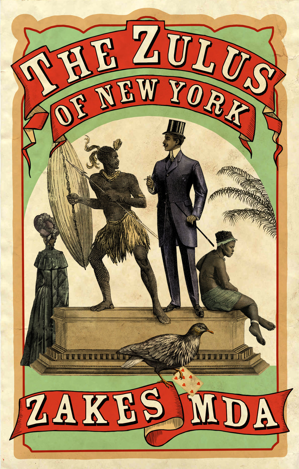 THE ZULUS OF NEW YORK  Literary Fiction, Umuzi, March 2019  The Great Farini would stride on to the stage and announce, 'Ladies and gentlemen, and now for the highlight of the day, the ferocious Zulus.'  The impresario Farini introduced Em-Pee and his troupe to his kind of show business, and now they must earn their bread. In 1885 in a bustling New York City, they are the performers who know the true Zulu dances, while all around them fraudsters perform silly jigs.  Reports on the Anglo-Zulu War portrayed King Cetshwayo as infamous, and audiences in London and New York flock to see his kin. What the gawking spectators don't know is that Em-Pee once carried nothing but his spear and shield, when he had to flee his king.  But amid the city's squalid vaudeville acts appears a vision that leaves Em-Pee breathless: in a cage in Madison Square Park is Acol, a Dinka princess on display. For Em-Pee, it is love at first sight, though Acol is not free to love anyone back.