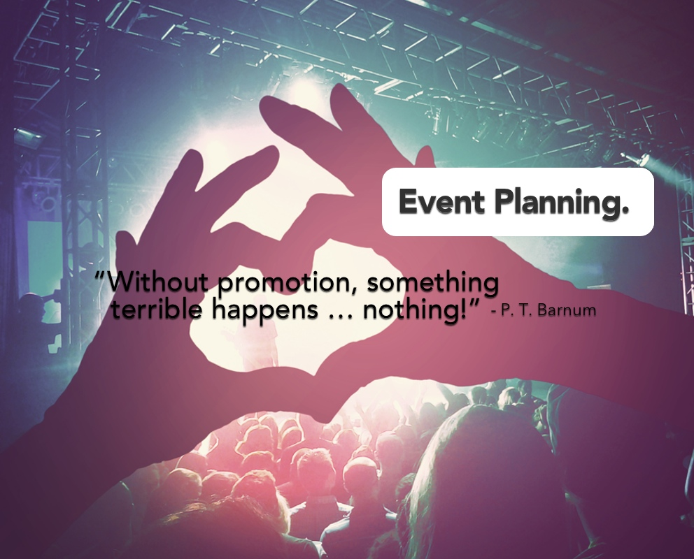 Need help planning an event? If so, contact us today!