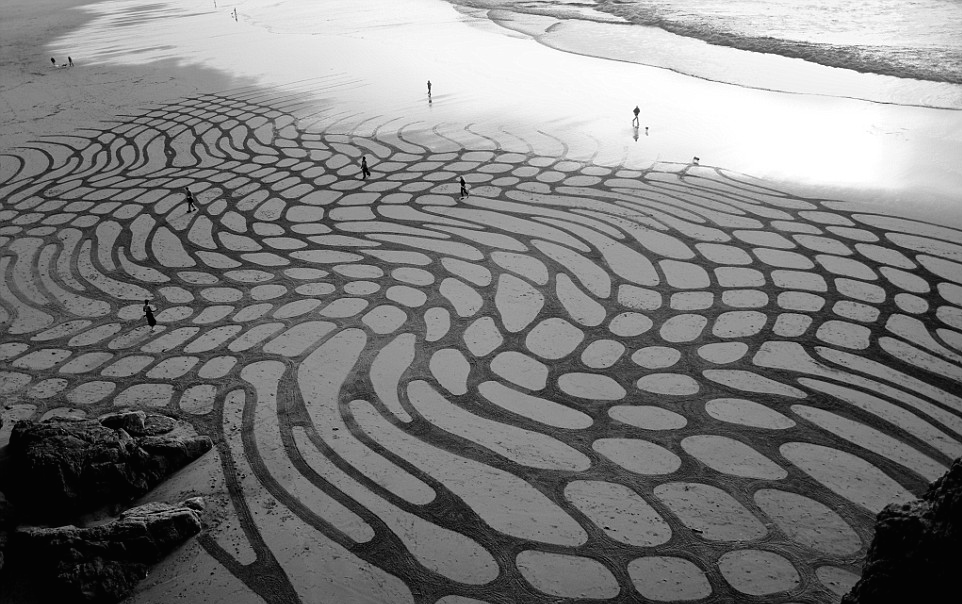 Land Art por Andreas Amador