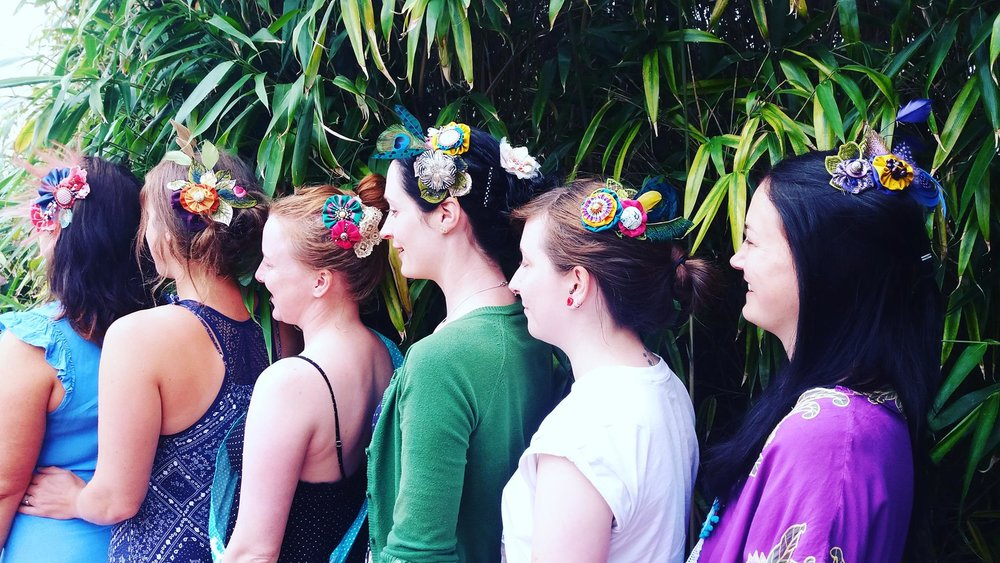 creative hen party s events titania fisher millinery
