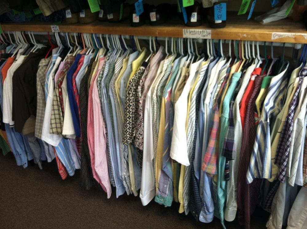 Mens Clothing Closet