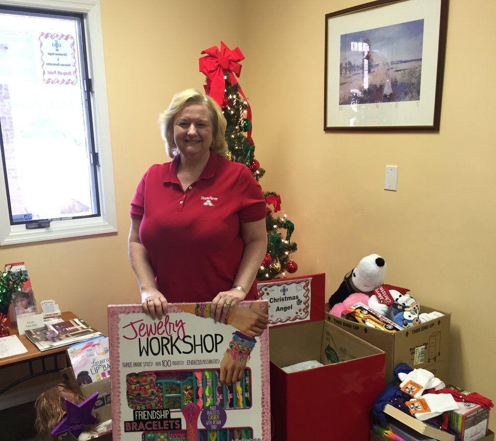Christmas Angel sponsors spread a joyful Christmas to children and families throughout Buncombe County!
