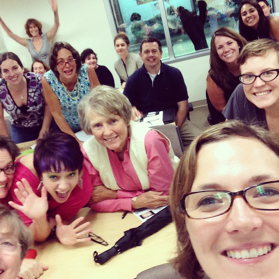 Spontaneous selfie from Give Richmond Class on Giving day Strategies