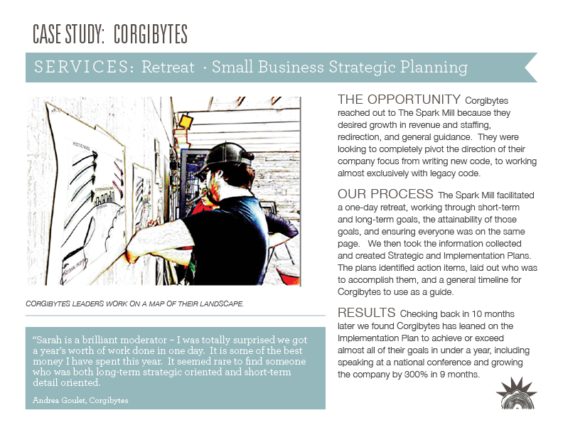 Click the image to download our case study exploring the Corgibytes project in detail.