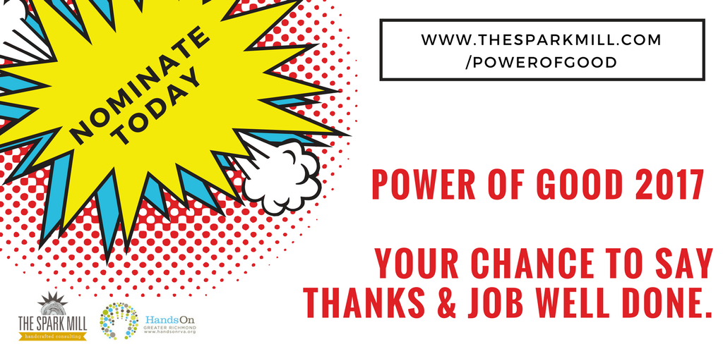 POWER OF GOOD 2017 — The Spark Mill - we make change possible
