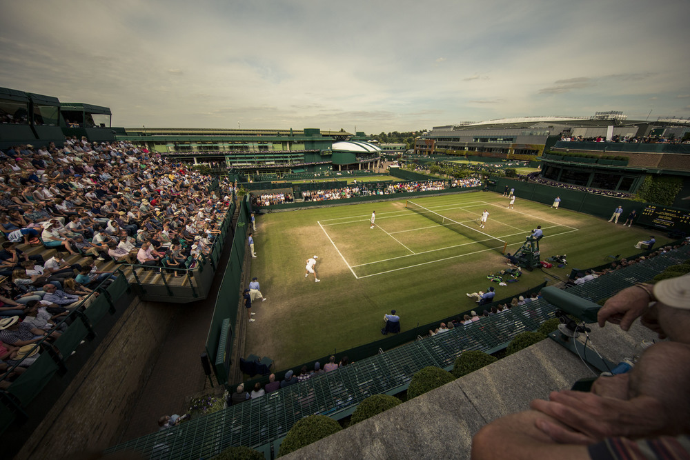 View from above Court 18. Shot on 1dx w/ 11-24mm f4