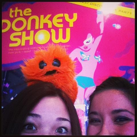 Donkey Show audition with JoJo!