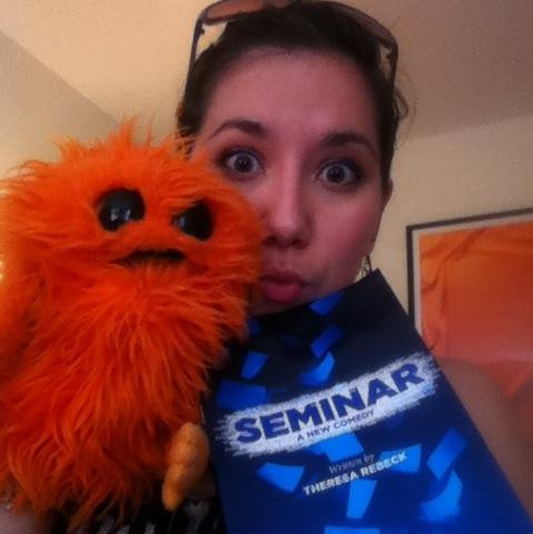 Izzy call for Seminar at Stoneham