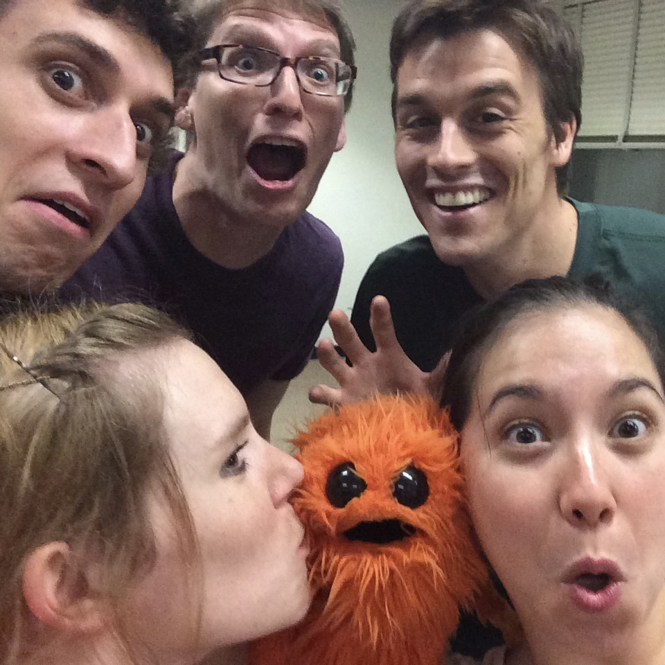 Wee beasties rehearsal  First, Second  2014