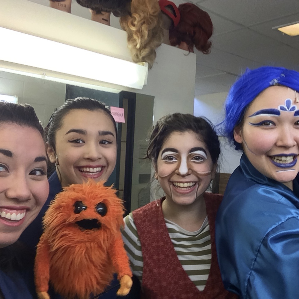 Opening Night Pinocchio, WFT 2015 with my favorite ladies
