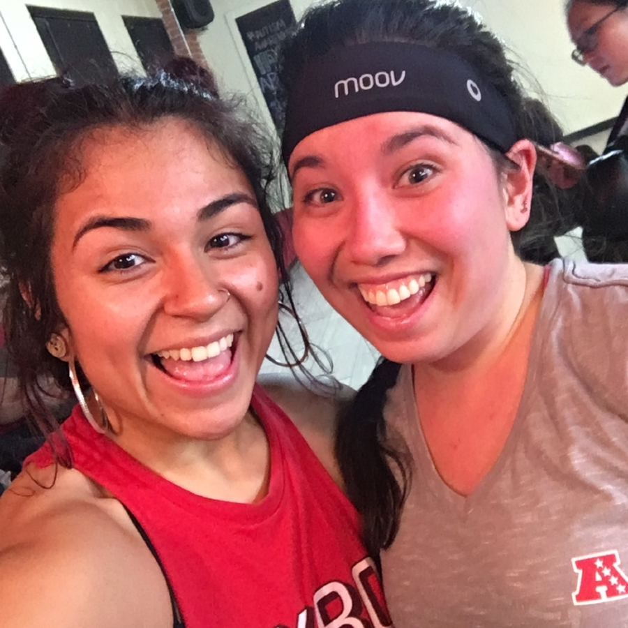 Point in fact: This was my first class back after that hiatus. First thing when she saw me - Mariela gave me a huge hug, and then kicked my butt throughout class.