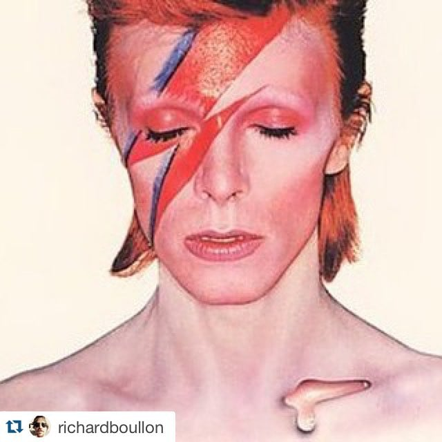 RIP Bowie :(:(:( Thank you for all the good tunes!!!! #davidbowie #bowie