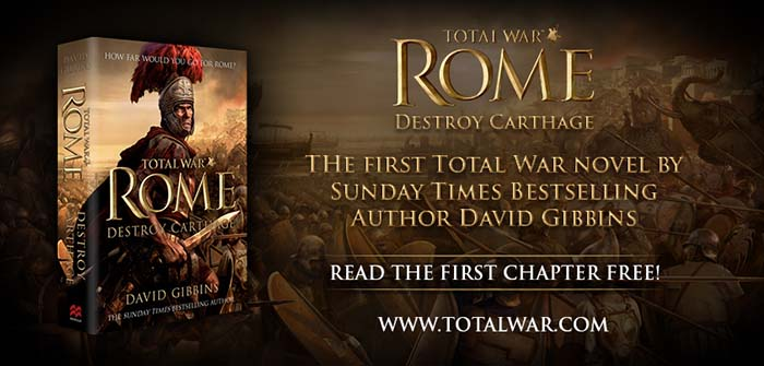 David Gibbins — Total War Rome: Destroy Carthage