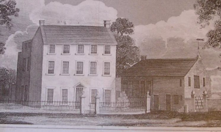 Catgill Hall, Cumbria, in the 1820s.