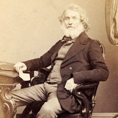 Colonel Sir George Everest, who as a young officer working for the Great Trigonometrical Survey was one of the first Europeans to explore the Godavari jungle, in 1819.