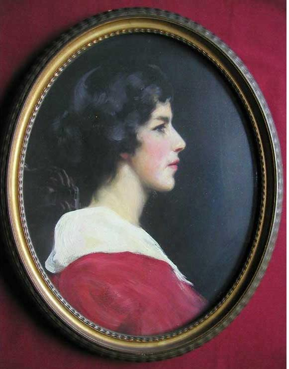 My five-times great-grandmother Mary Ann Hunter, painted about 1800 (Hunter archive).