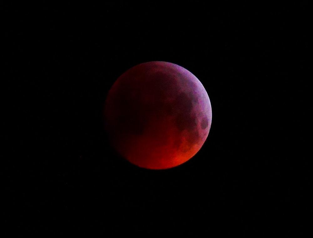 Blood Moon, 21 January 2019