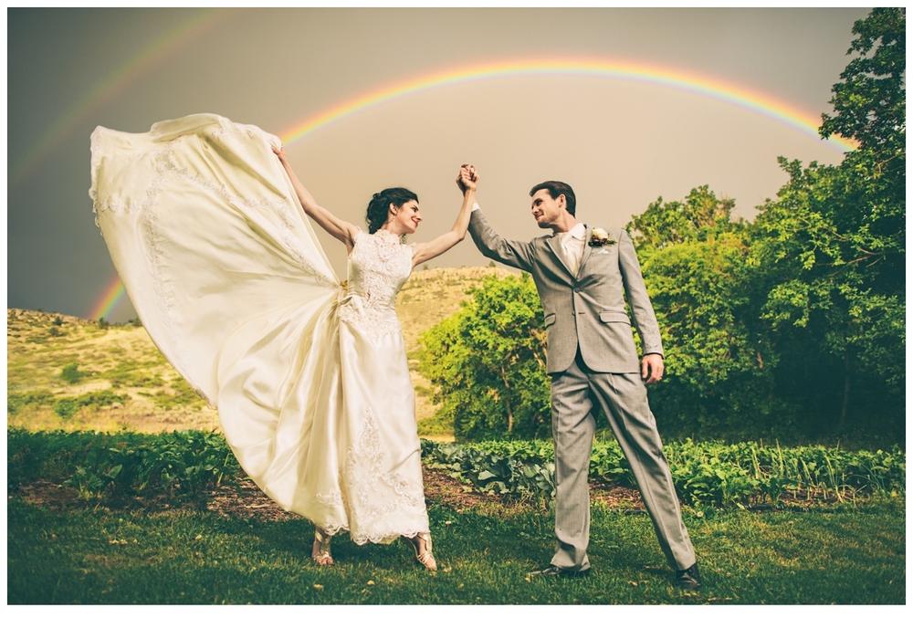 FEATURED WEDDING: Colorado Farm