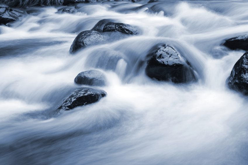 Water-smoothed stones