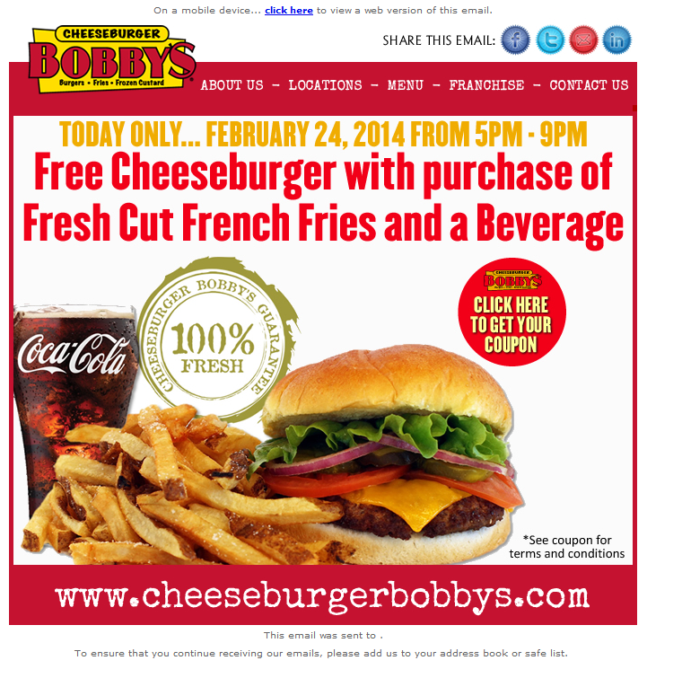 email - Webview - Today only from 5-00PM - 9-00PM at Cheeseburger Bobby's....clipular.png