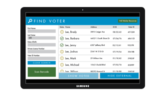 Instantly access your ballot from anywhere in the world