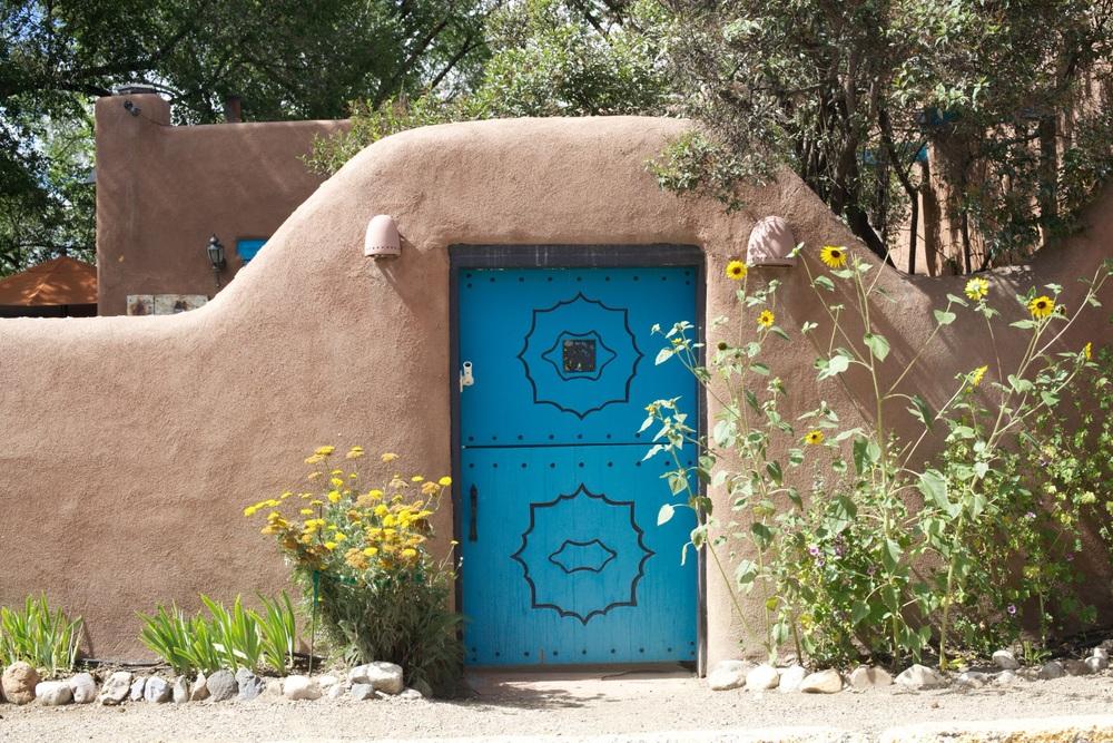 Ledoux door, Taos.