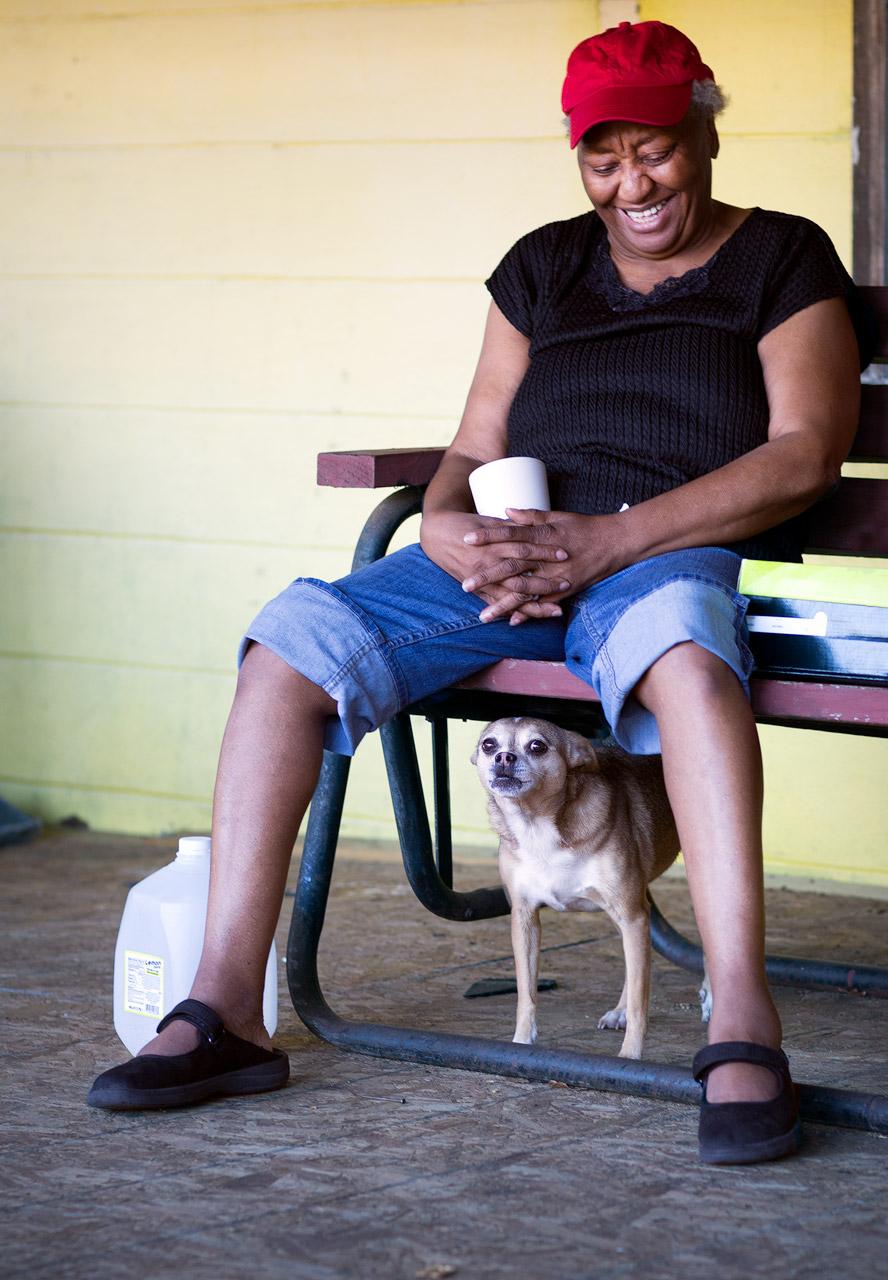 Mrs. Middletonand Maisythe attack dog (Hollywood, SC)