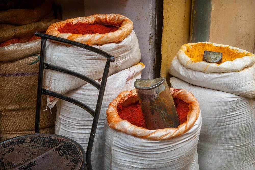 Sacks of Spices