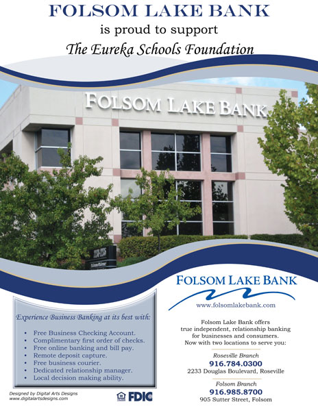Folsom Lake Bank Ad
