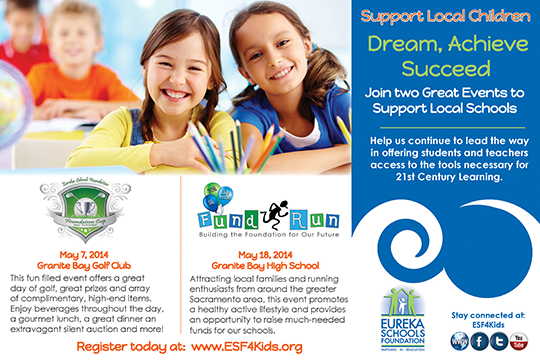 Eureka Schools Foundation Ad
