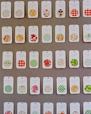 martha.pattern fabric seatting cards.diy.jpg