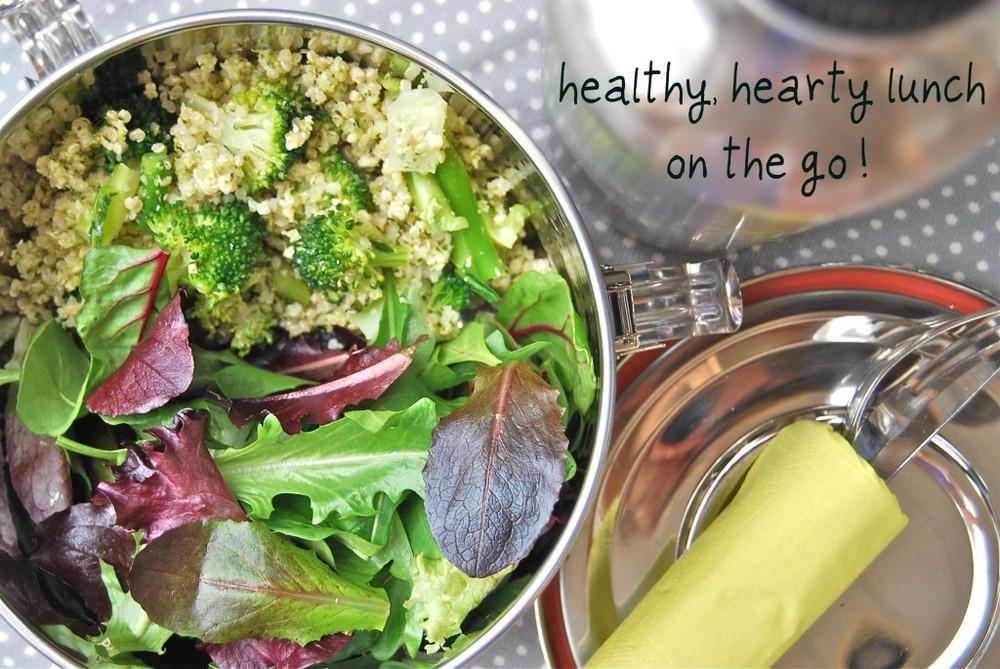 Broccoli Quinoa Salad To-Go