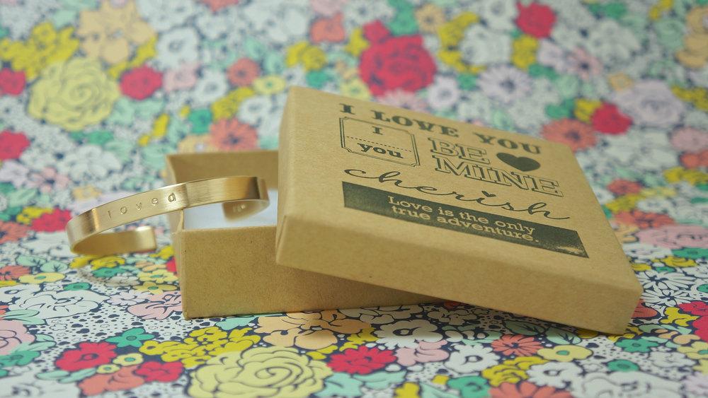 Z W loved cuff bracelet