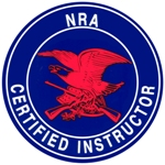 Click the NRA Instructor Logo for more information on becoming an instructor.