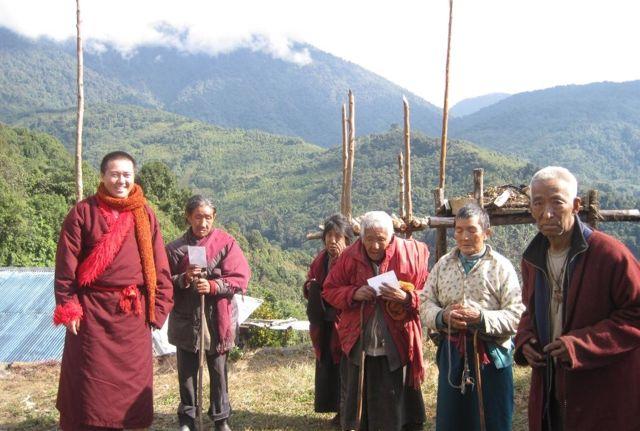 Senior Sangha in Pemakod