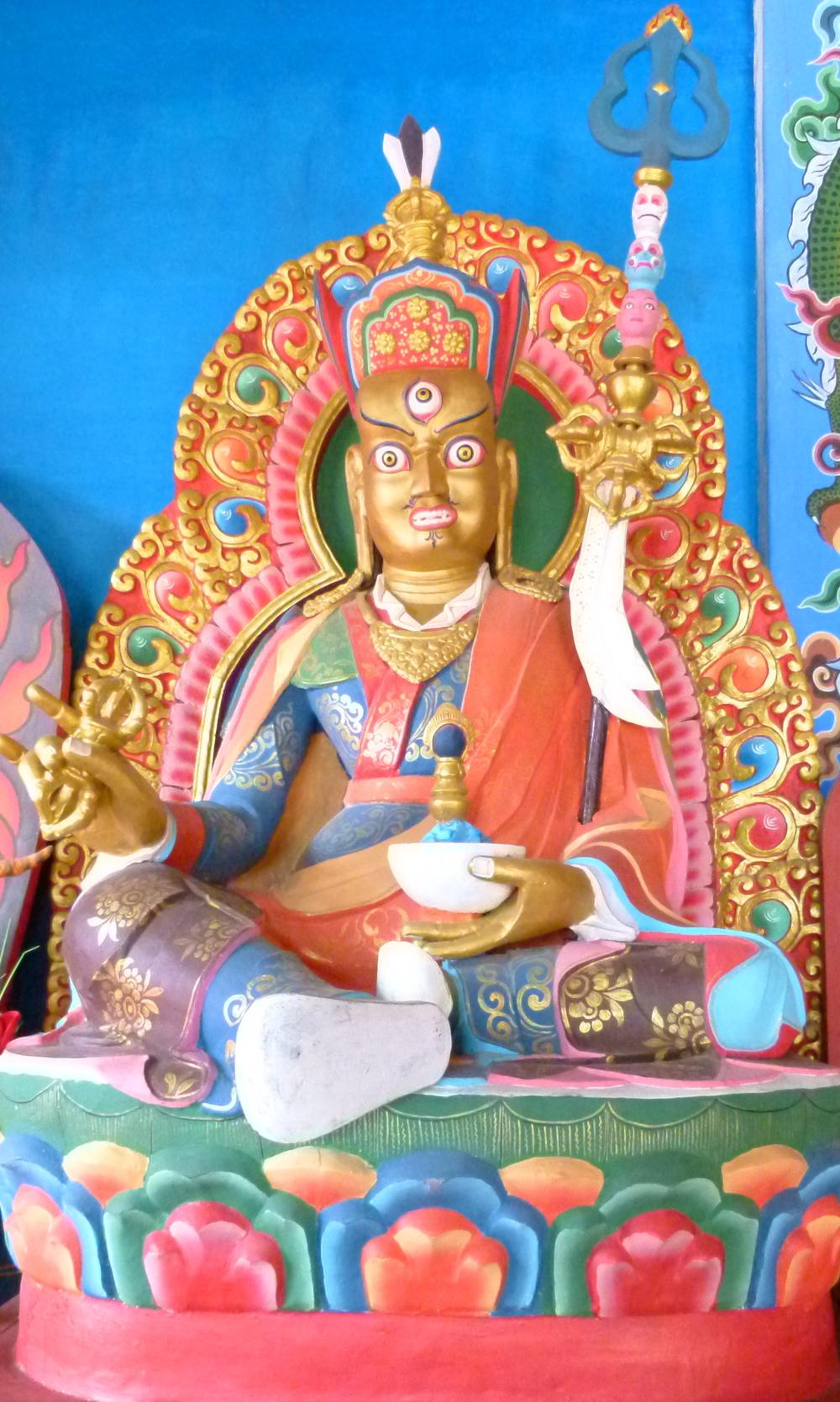 Special Guru Padmasambhava statue built by Togden
