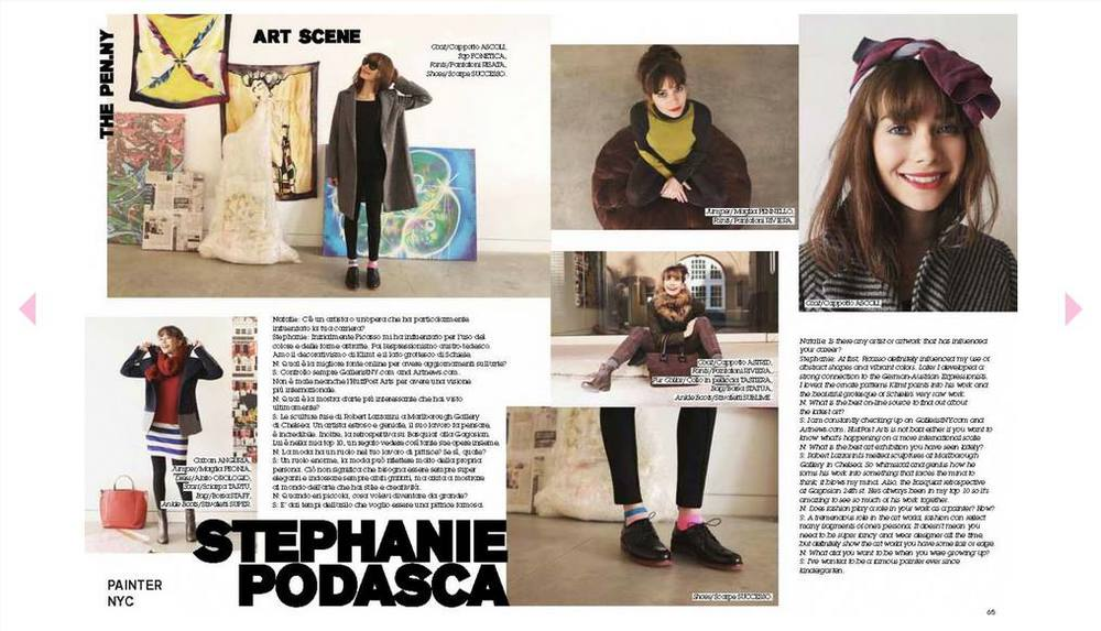 Pennyblack Magalog Excerpt. If you're in Europe this fall, grab one!