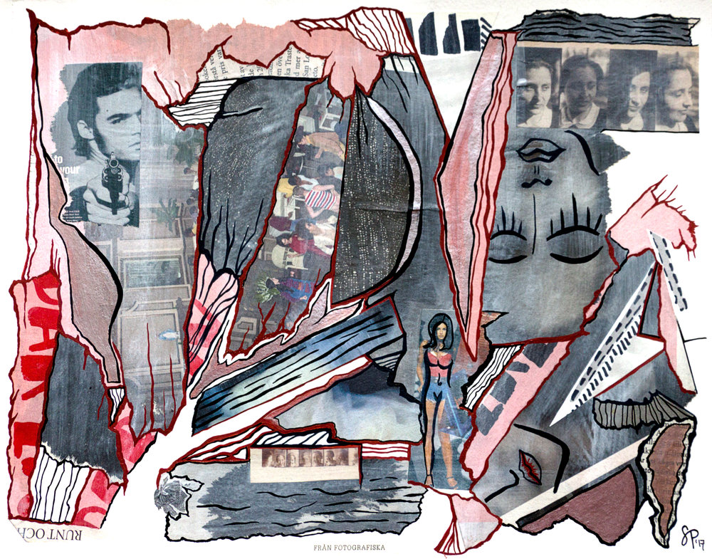 Fotografiska Collage