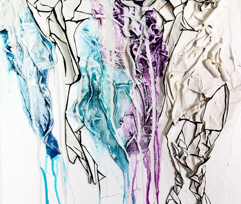 Silk Drip (Detail)