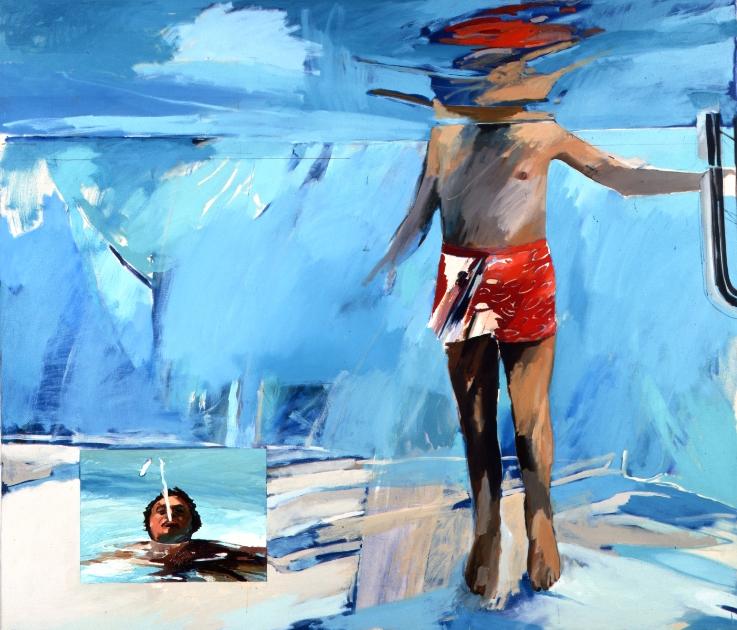 A 009 Swimmer (Rock Hudson) 1977.jpg