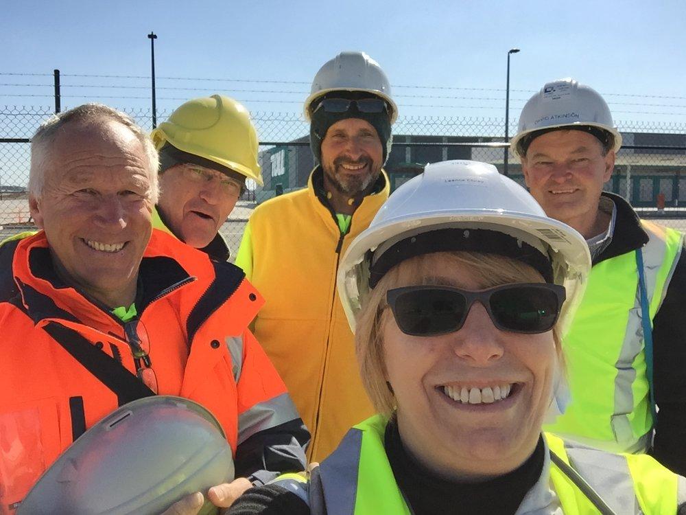Reduxo asset audit team on site at a major transport company