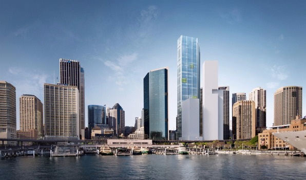 Circular Quay Tower, Sydney Northern Aspect Image Source: Lendlease Development Pty Limited