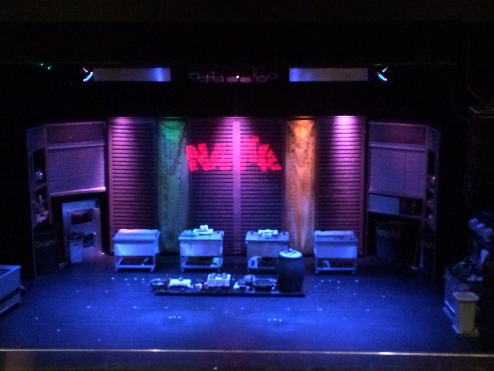 The Stage for Nanta!