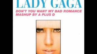 Awesome mashup of Human League's Don't You Want Me and Lady Gaga's Bad Romance by A Plus D.